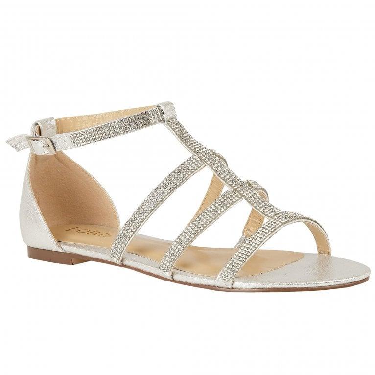 Lotus Zelina Womens Flat Sandals
