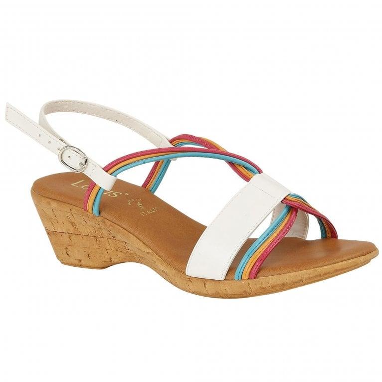 Lotus Carrara Womens Wedge Heel Sandals