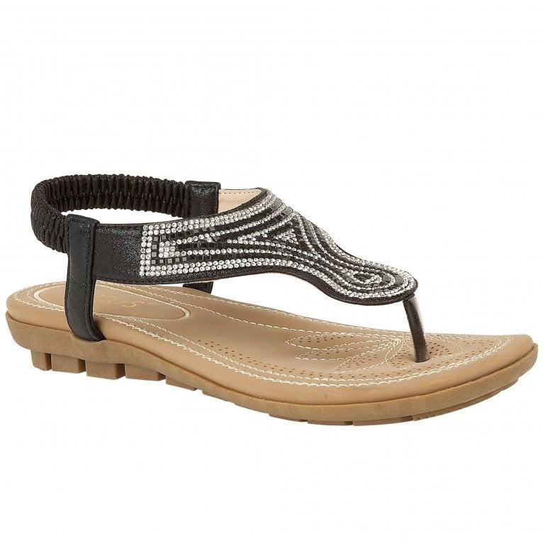 Lotus Delia Womens Toe Post Sandals