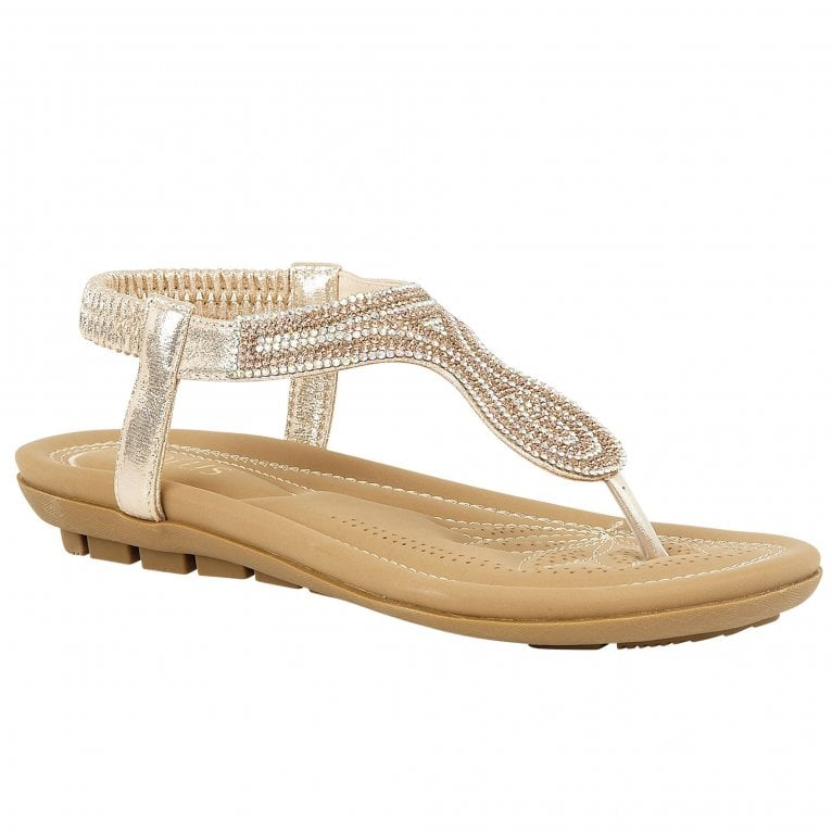 Lotus Delia Womens Toe Post Sandals