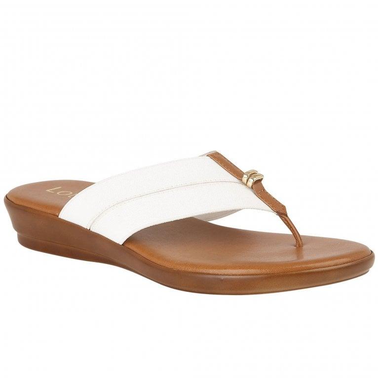 Lotus Hera Womens Toe Post Sandals