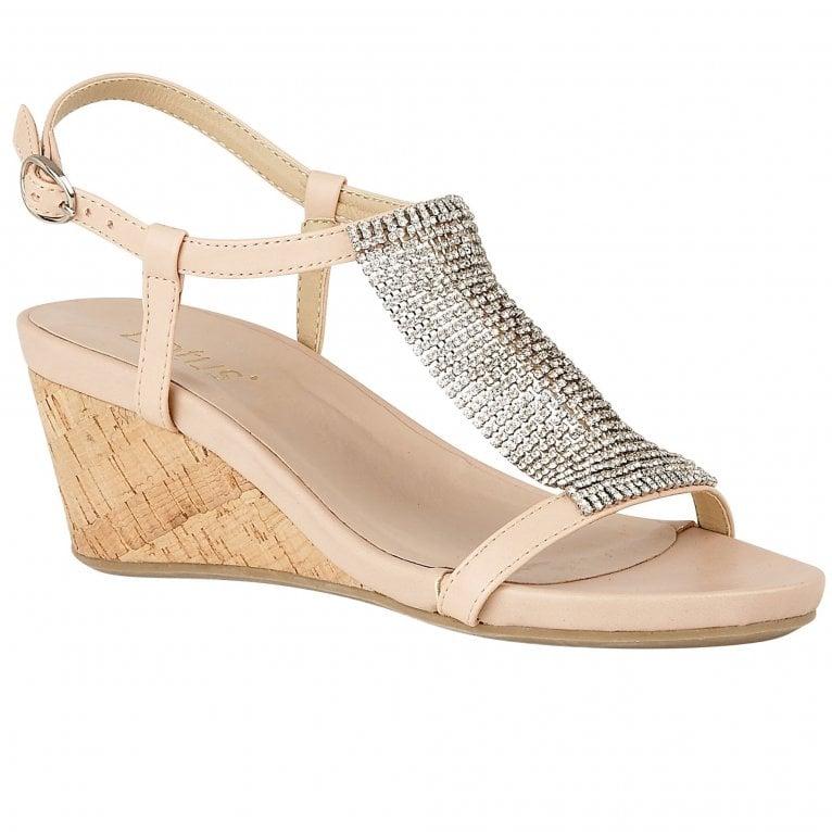 Lotus Klarissa Womens Wedge Heel Sandals