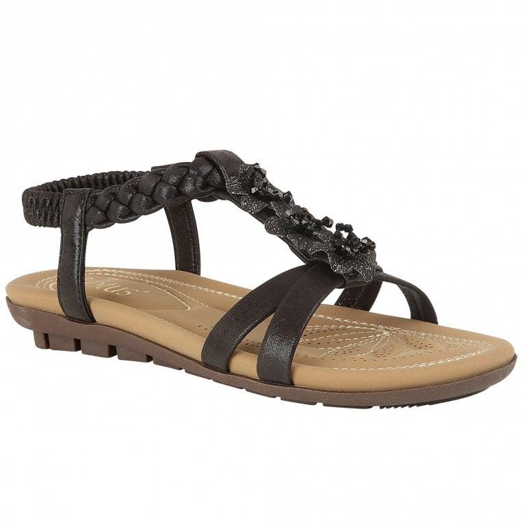 Lotus Margarita Womens Flat Sandals