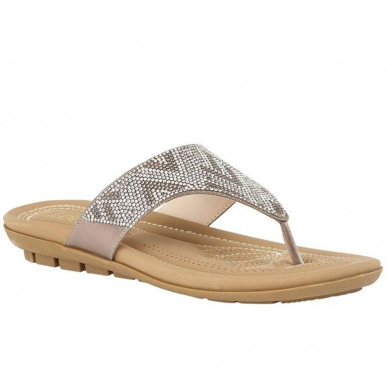 Lotus Patti Womens Toe Post Sandals