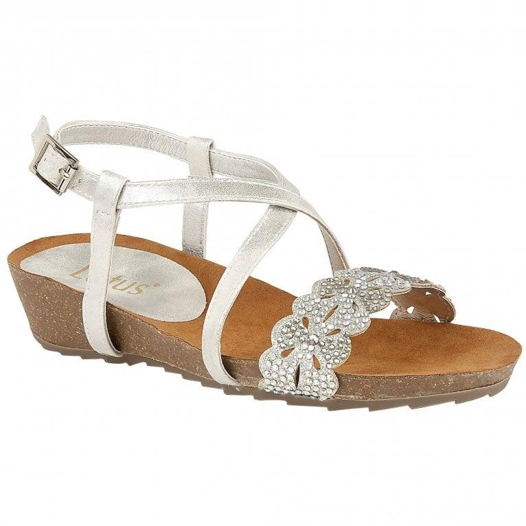 Lotus Sienna Womens Wedge Heel Sandals