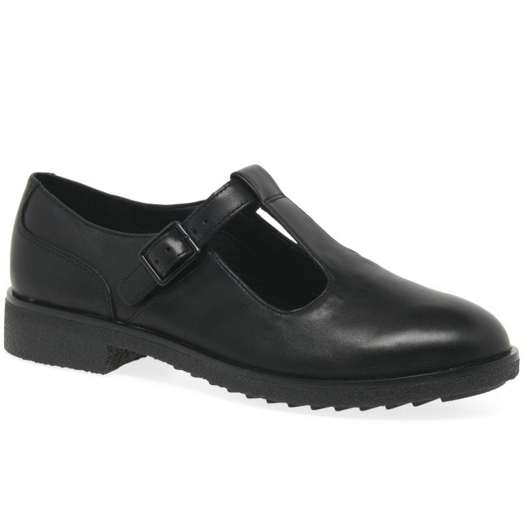 Clarks Griffin Town Womens T-Bar Shoes