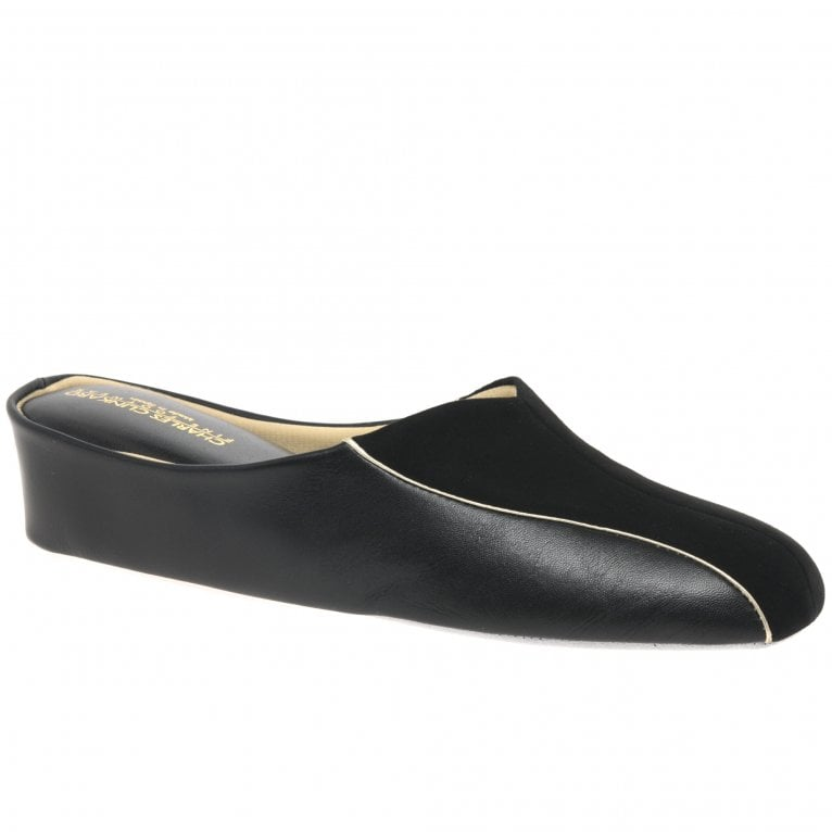 Relax Slippers Martha Leather and Suede Slipper