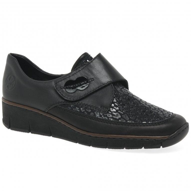 Rieker Merry Womens Riptape Fastening Shoes