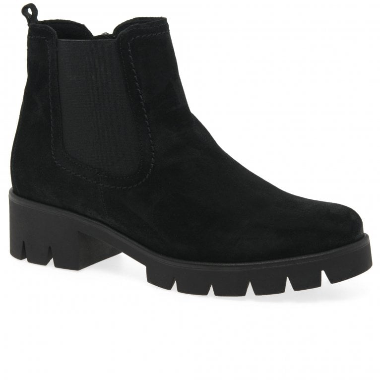 Gabor Bodo Womens Suede Chelsea Boots