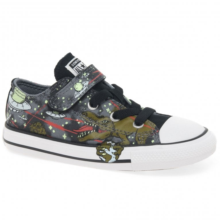 Converse All Star 1V Interstellar Dino Boys Infant Canvas Shoes