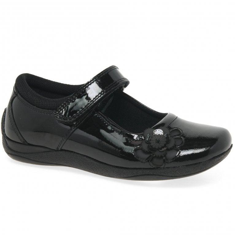Hush Puppies Jessica Girls Junior School Shoes
