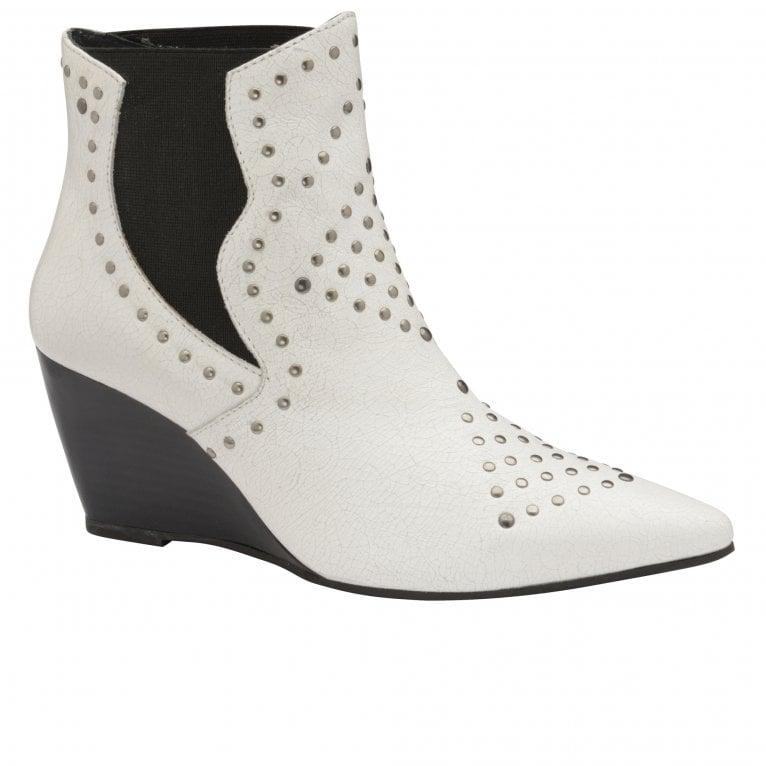 Ravel Reefton Womens Wedge Heel Ankle Boots