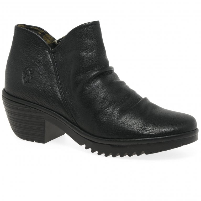 Fly London Wezo Womens Ankle Boots