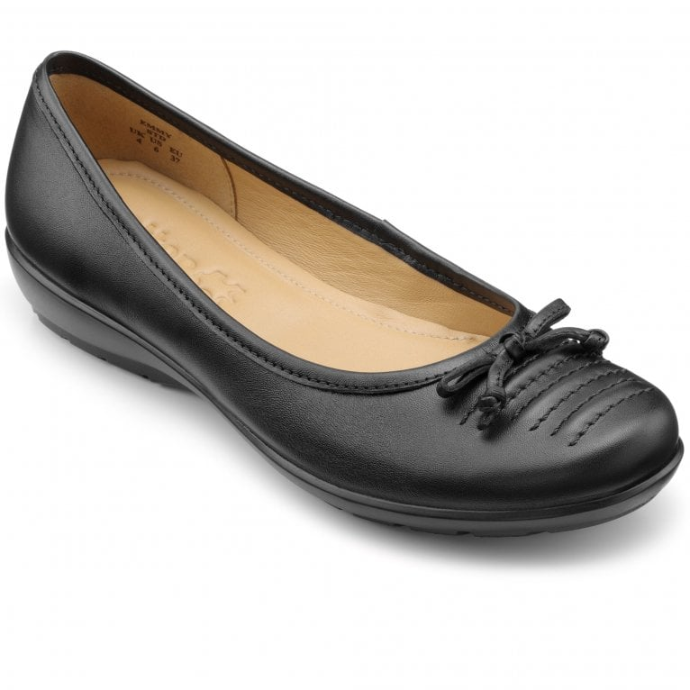 Hotter Emmy Womens Wide Fit Ballet Pumps
