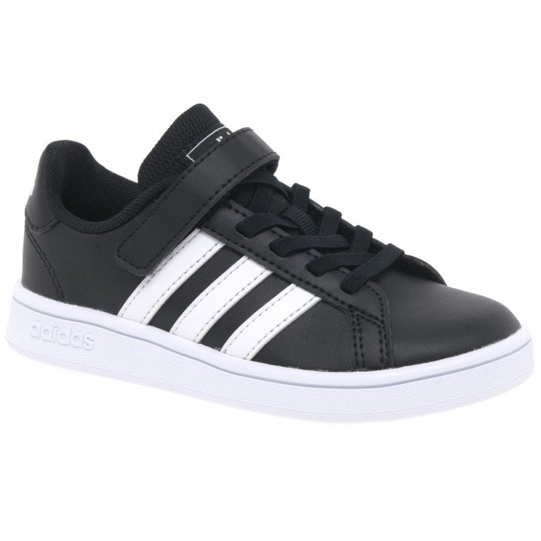 Adidas Grand Court Kids Riptape Sports Trainers