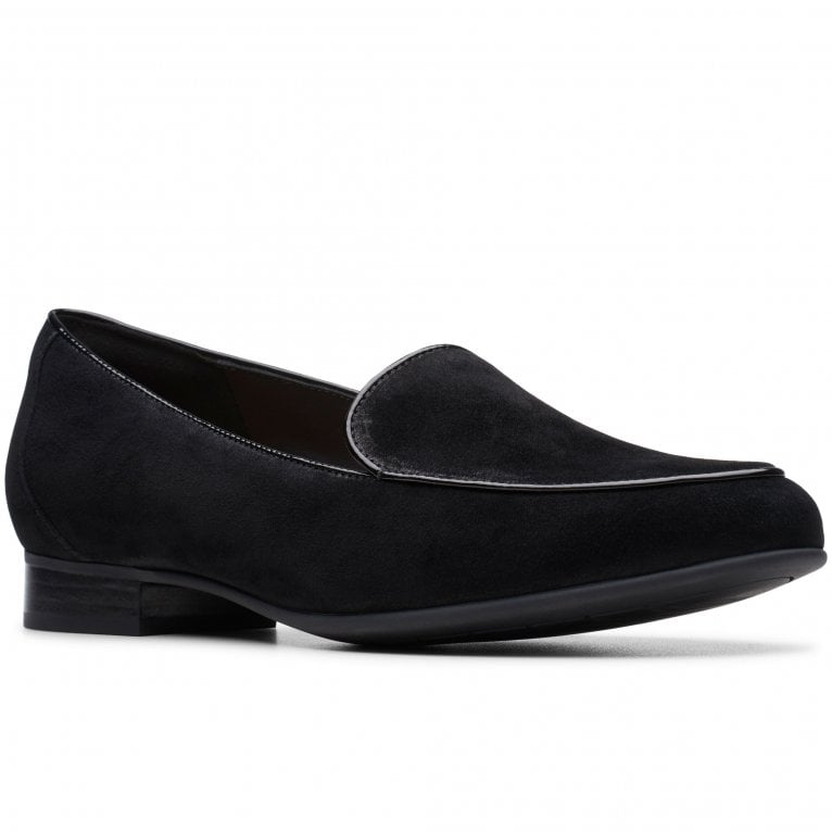 Clarks Un Blush Ease Womens Flat Slip On Shoes