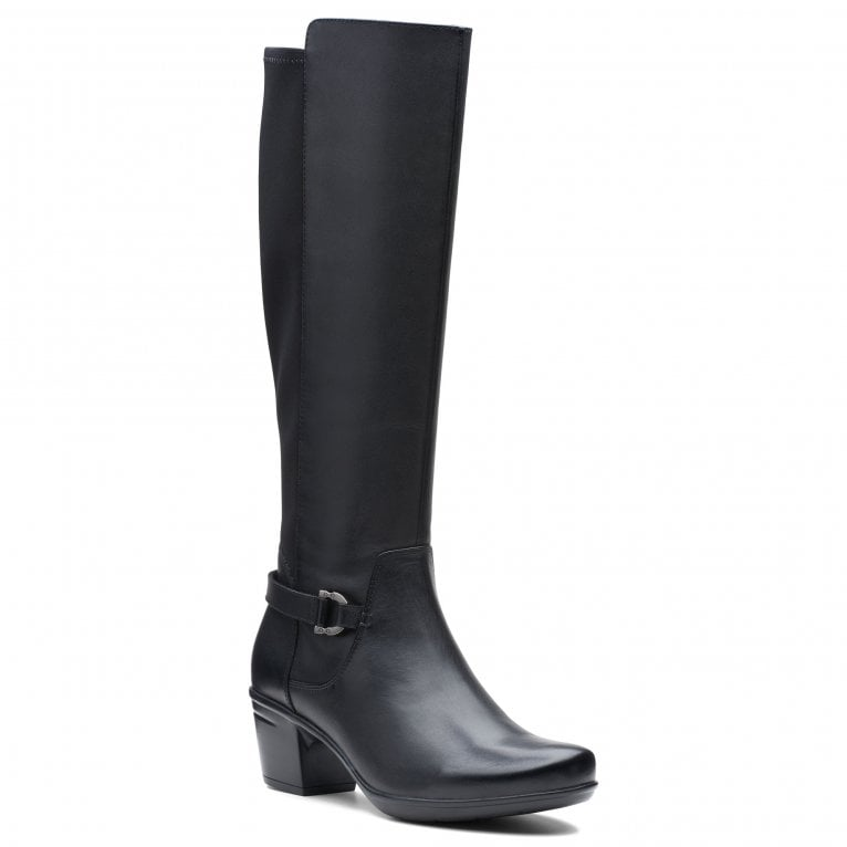 Clarks Emslie March Womens Knee High Boots