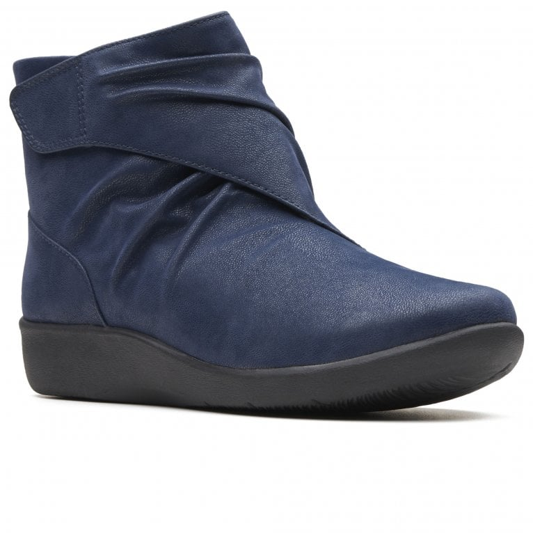 Clarks Sillian Tana Womens Wide Fit Ankle Boots