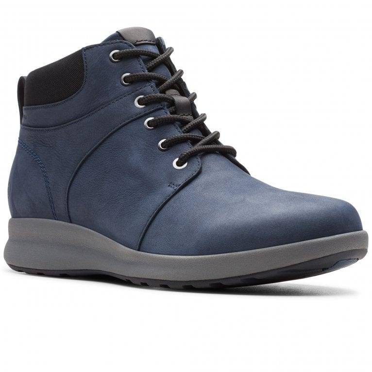 Clarks Un Adorn Walk Womens Wide Fit Waterproof Ankle Boots