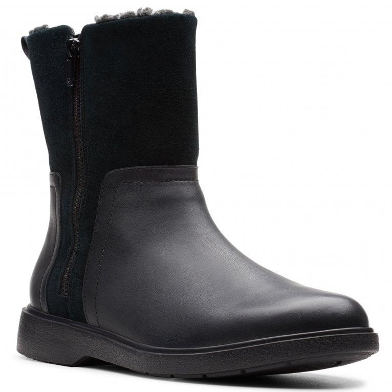 Clarks Un Elda Mid Womens Mid Calf Boots