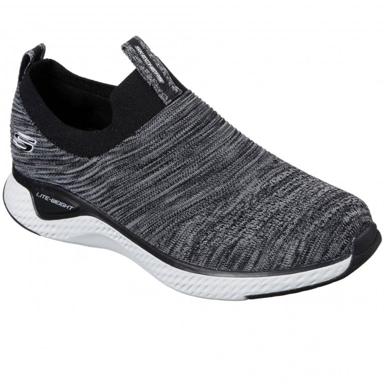 Skechers Solar Fuse Flat Knit Slip On Trainer