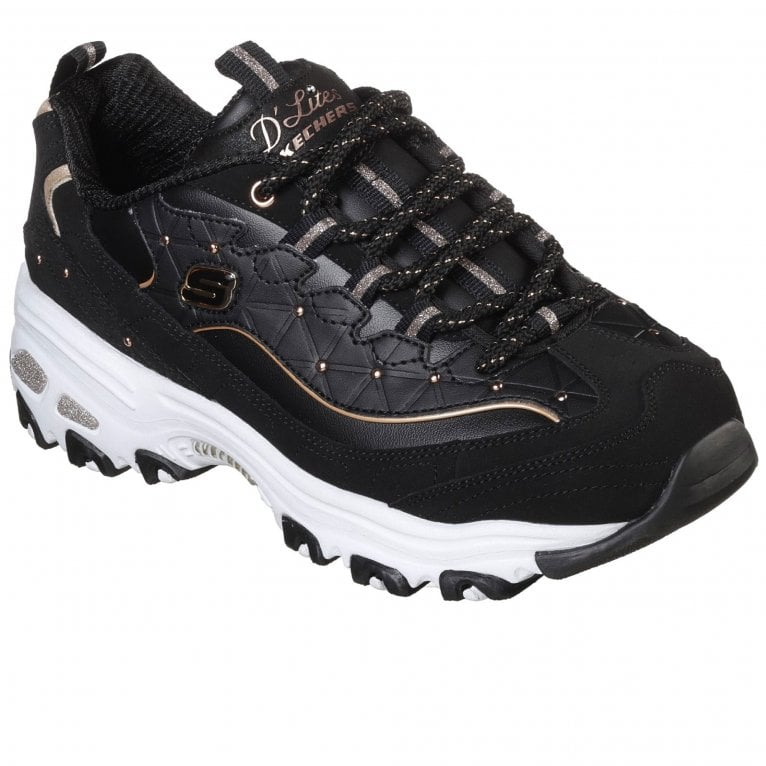 Skechers D'Lites Glamour Feels Womens Trainers