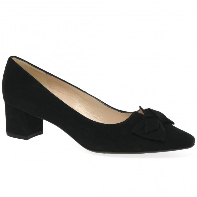 Peter Kaiser Blia Womens Suede Court Shoes
