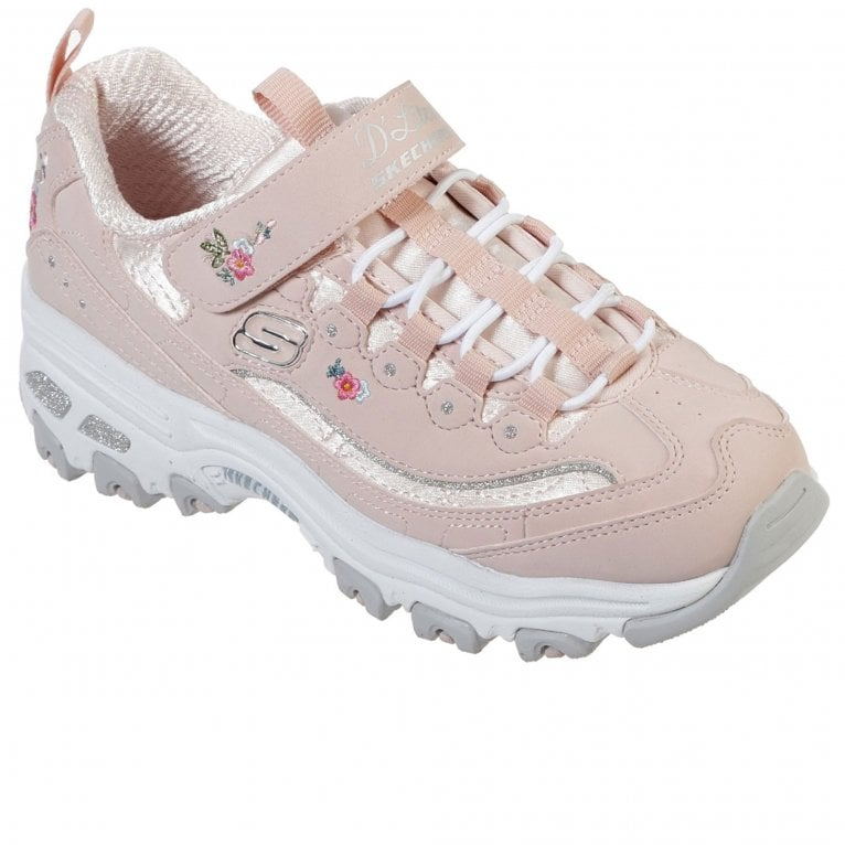 Skechers D'Lites-Lil Blossom Girls Trainers