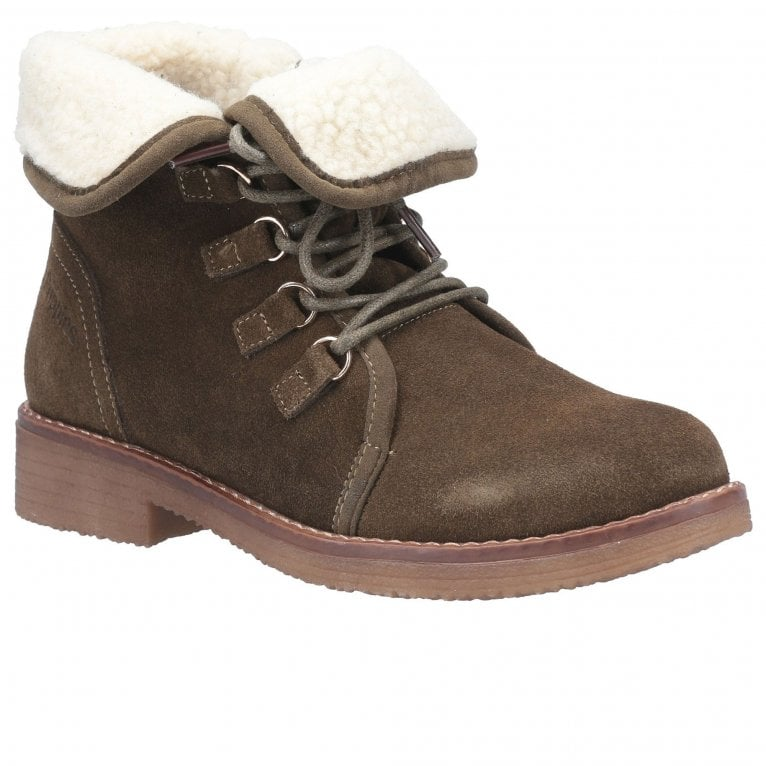 Hush Puppies Milo Womens Lace Up Boots