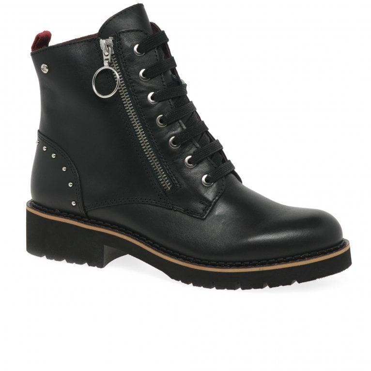 Pikolinos Vanda Womens Stud Ankle Boots