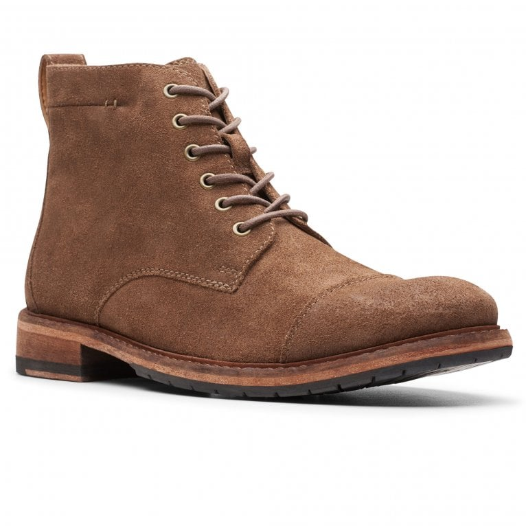 Clarks Clarkdale Hill Mens Lace Up Boots