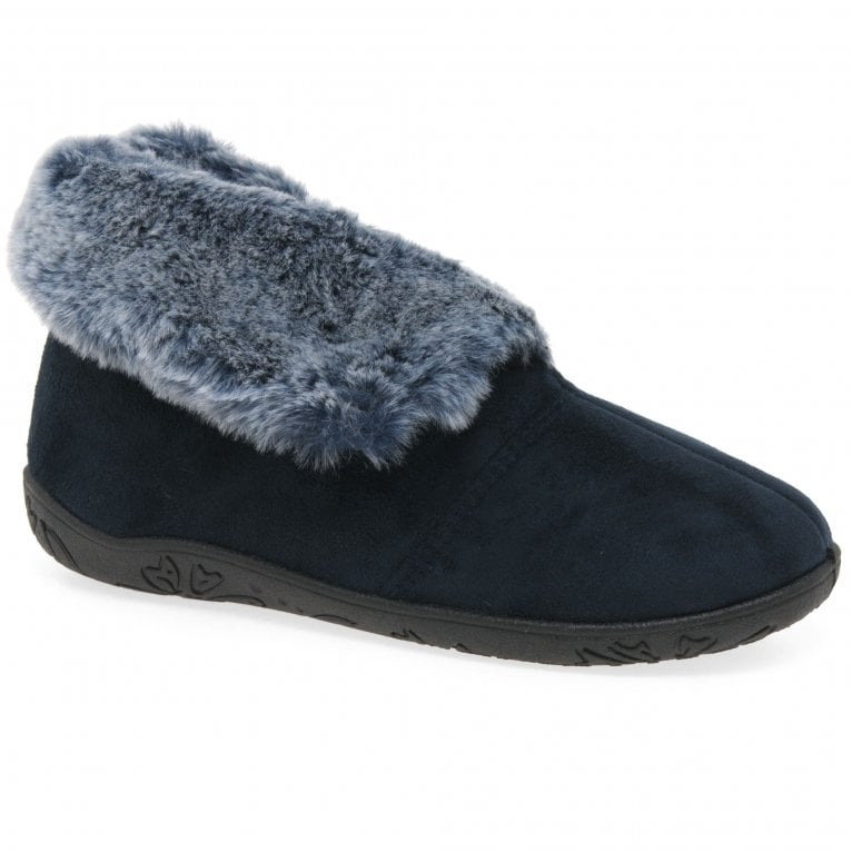 Padders Esme Womens Full Warm Lined Slippers