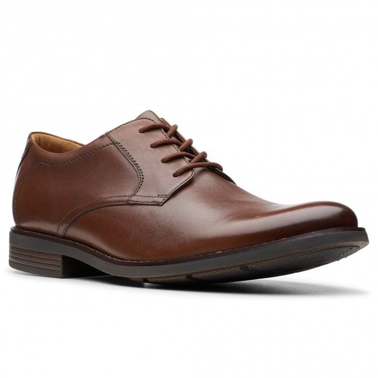 Clarks Becken Lace Wide Mens Smart Shoes