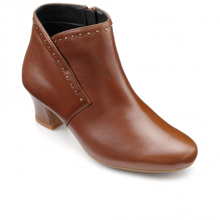 Hotter Dallas Womens Wide Fit Ankle Boots