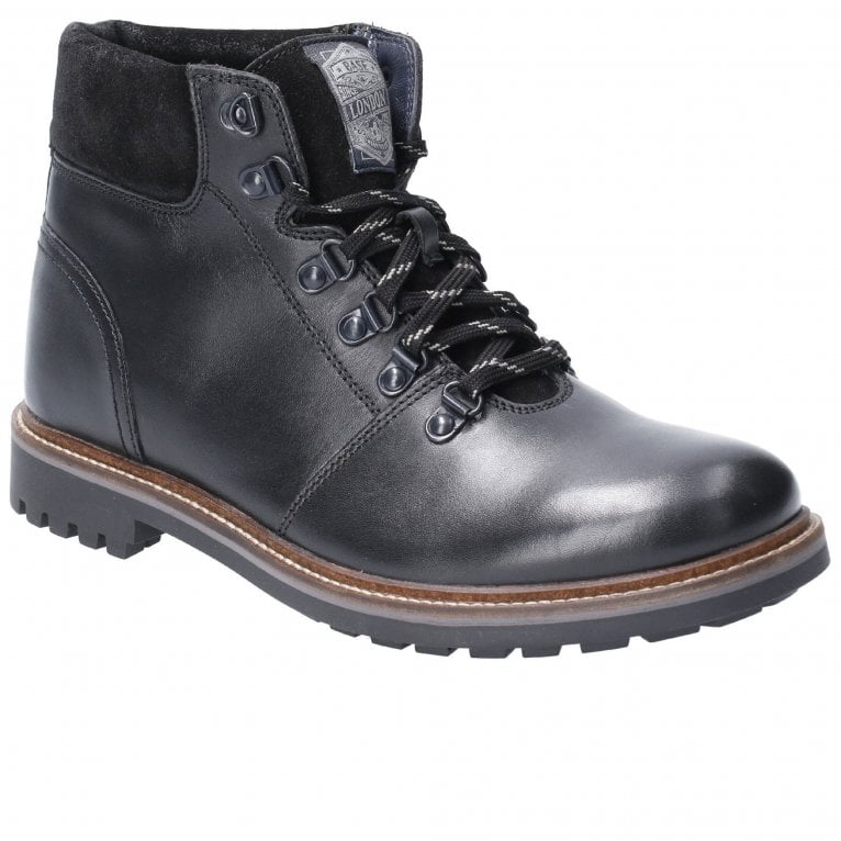 Base London Fawn Burnished Mens Lace Up Boots