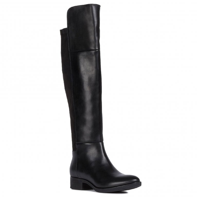 Geox D Felicity I Zip Up Knee High Boots