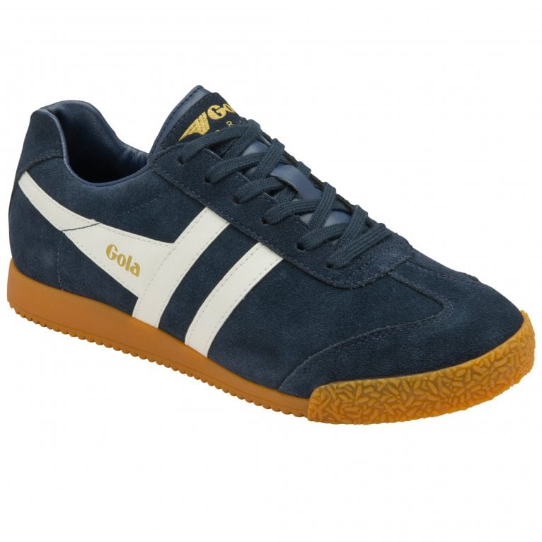 Gola Harrier Suede Womens Trainers