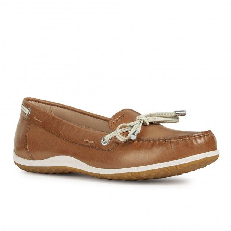 Geox D Vega Moc B Womens Moccasin Shoes