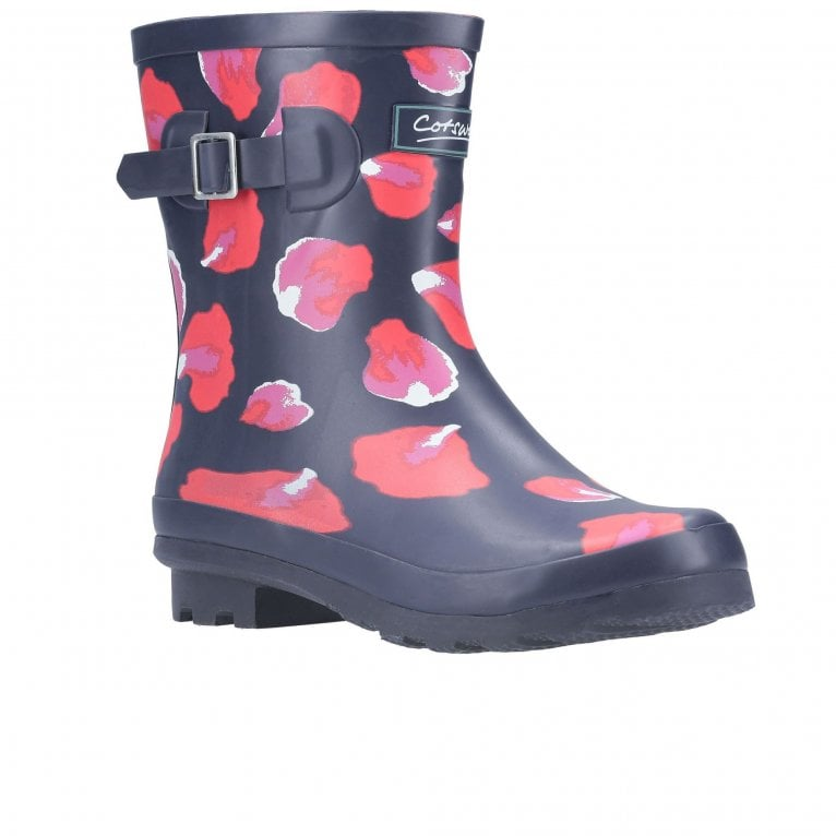 Cotswold Badminton Womens Patterned Wellingtons