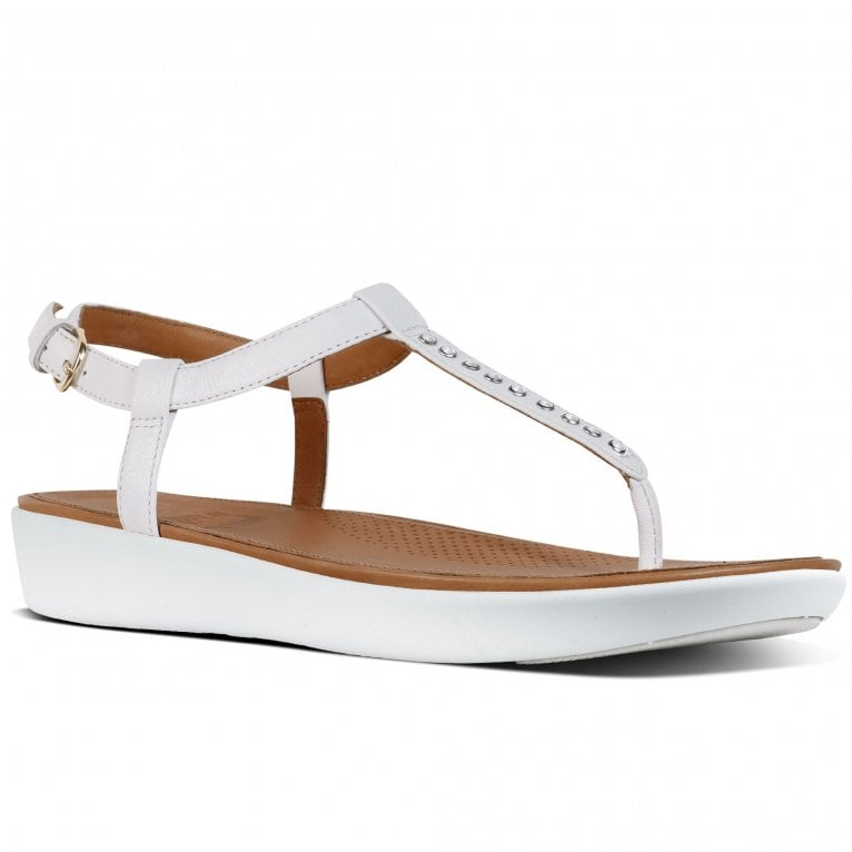 FitFlop™ Tia Crystal Womens Toe Post Sandals