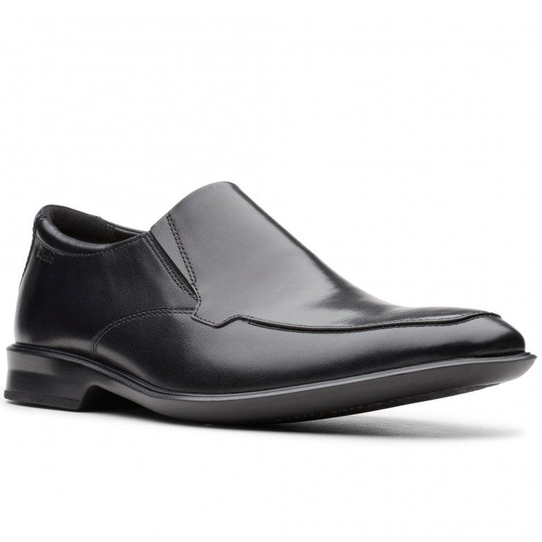 Clarks Bensley Step Men's Wide Fit Formal Shoes