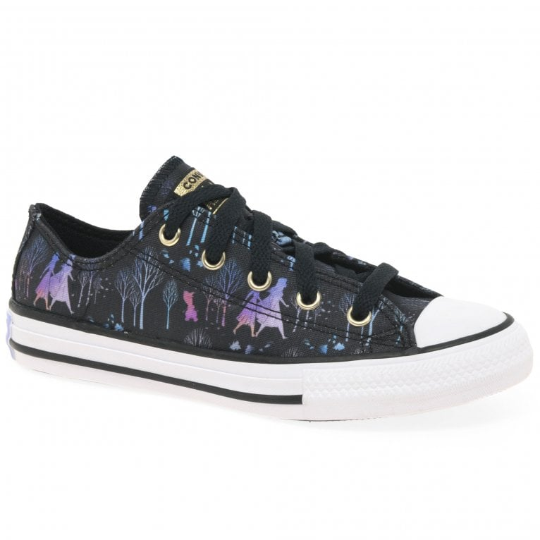 Converse Frozen II Sisters Journey Oxford Girls Youth Canvas Shoes