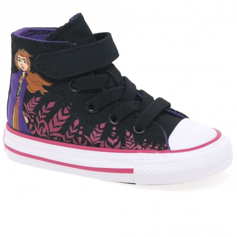Converse Frozen II Anna Hi Top Girls Infant Canvas Boots