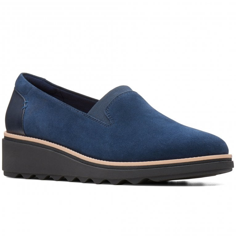 Clarks Sharon Dolly Womens Casual Slip On Shoes