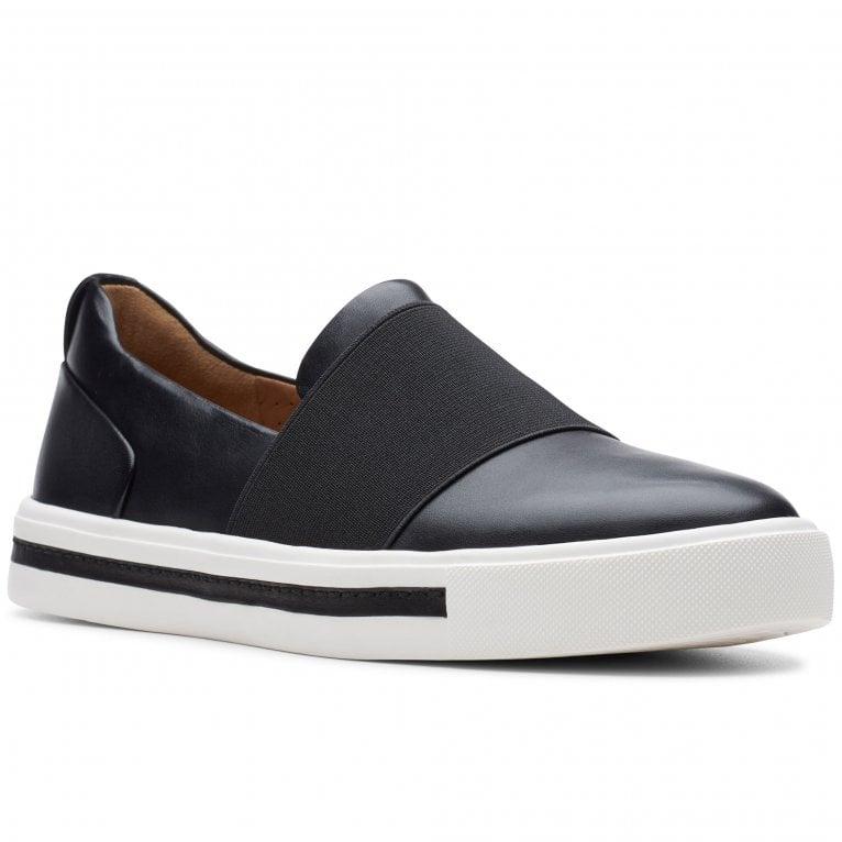 Clarks Un Maui Step Womens Slip On Sports Shoes