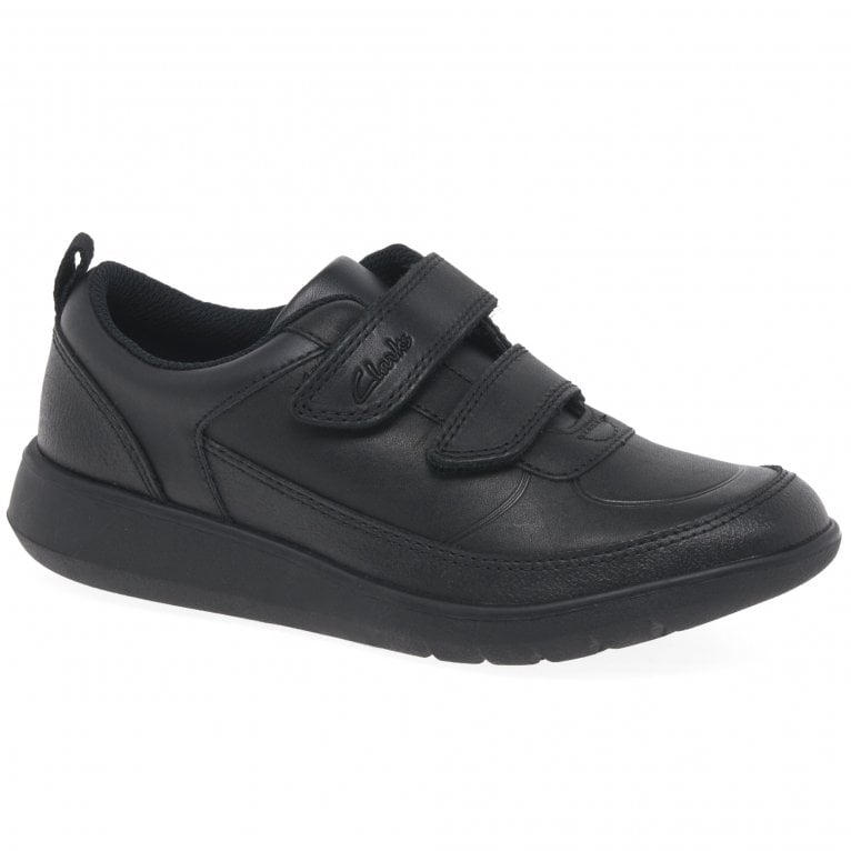 Clarks Scape Flare K Boys School Shoes