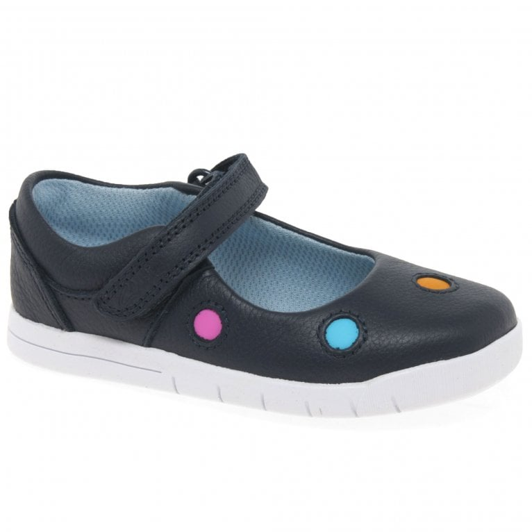 Clarks Emery Dot Girls First Shoes