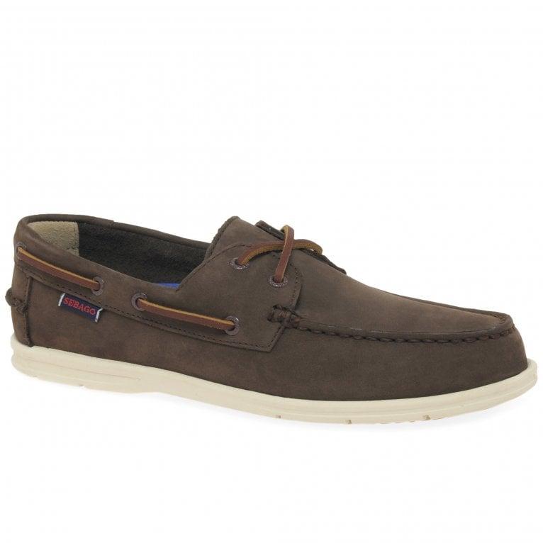 Sebago Naples Nubuck Mens Boat Shoes