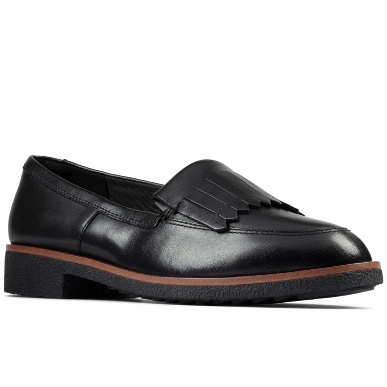 Clarks Griffin Kilt Womens Loafers