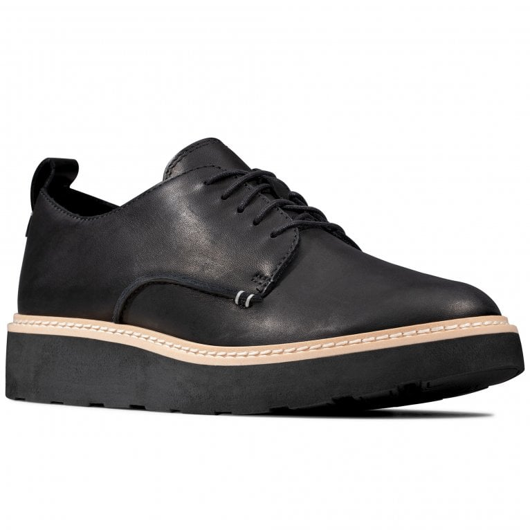 Clarks Trace Walk Womens Casual Derby Shoes